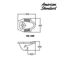 Jual Produk Toilet WAR2C4Dxx American standard berkualitas  2