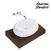 Produk wastafel YA16A1C10-A American standard berkualitas vanitory collection  1