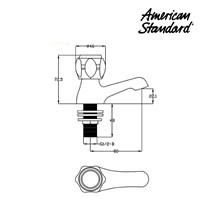 Jual Kran air wastafel F062C032 berkualitas dan terbaru dari American standard 2