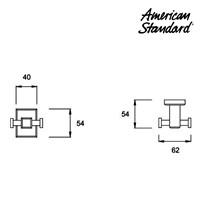 Jual Pengait ( double hook ) F068A106 berkualitas dari American standard 2