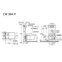 Jual Closet TOTO Automatic CES994WA (Pengganti CW 994 P) 2