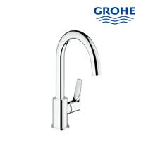 Kran wastafel sink Grohe 31220000 BauFlow pillar tap sink  berkualitas dan terbaru asli dari Jerman  1