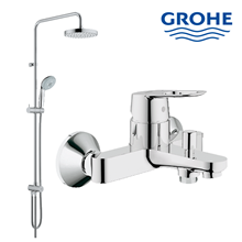 shower set lengkap dengan kran shower Grohe berkualitas dan terbaru