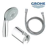 Hand shower set lengkap dengan selang dan tempat shower Grohe berkualitas dan terbaru  1