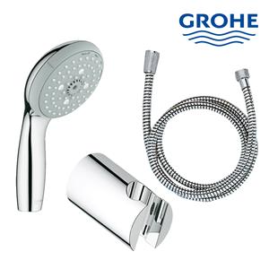 Hand shower set lengkap dengan selang dan tempat shower Grohe berkualitas dan terbaru