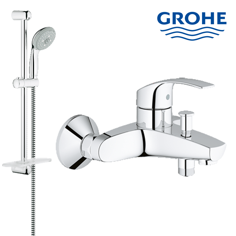 Sell 28436001 Grohe shower rail set complete with shower faucet ...