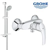 Shower rail set grohe lengkap dengan kran shower berkualitas dan terbaru  1