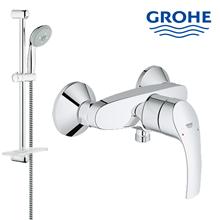 Shower rail set grohe lengkap dengan kran shower berkualitas dan terbaru