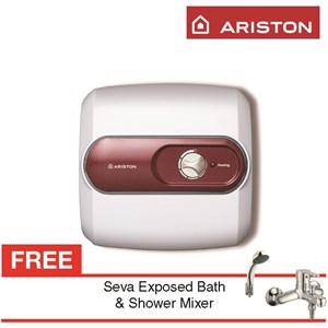 water heater  Ariston Nano 10 berkualitas harga terbaru gratis seva exposed bath & shower mixer