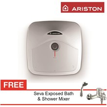 PROMO water heater Ariston ANDRIS R 15 berkualitas harga terbaru 2016 gratis seva exposed