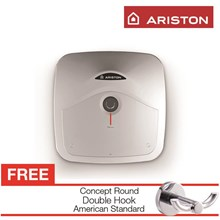 PROMO water heater Ariston Andris R 15 berkualitas gratis double hook