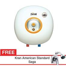 Water Heater Ferroli Bravo 30 Liter Free Kran air Saga