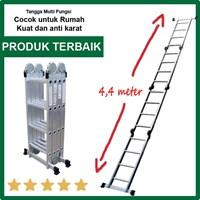 Jual Tangga Serbaguna Liveo LV604 Ladder Tangga Lipat Multifungsi 2