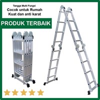 Distributor Tangga Serbaguna Liveo LV604 Ladder Tangga Lipat Multifungsi 3