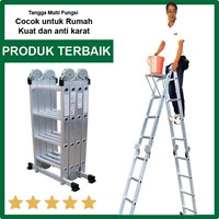 Tangga Serbaguna Liveo LV604 Ladder Tangga Lipat Multifungsi 1