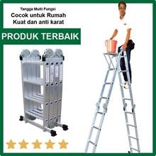 Tangga Serbaguna Liveo LV604 Ladder Tangga Lipat Multifungsi