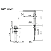Jual Toto Kran Air TX 116 LMN 2
