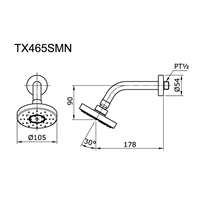 Jual Toto Shower TX 465 SMN 2