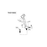 Jual Toto Shower THX 118 SG 2