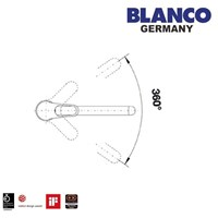 Jual Kran Air Blanco Wega Chrome 2