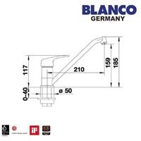 Distributor Kran Air Blanco Wega Chrome 3
