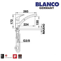 Beli Kran Air Blanco Bravon -S 4