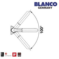 Distributor Kran Air Blanco Bravon -S 3