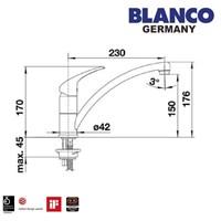 Distributor Blanco Bravo Kran Air 3