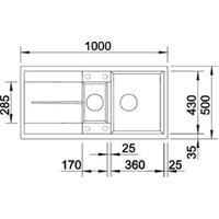 Jual Kitchen Sink Blanco Metra 6 S 2