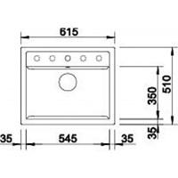 Jual Kitchen Sink Blanco Dalago 6 2