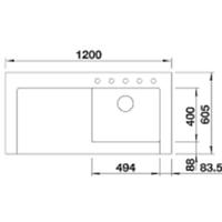 Jual Kitchen Sink Blanco Modex -M60 2
