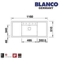 Beli Kitchen SInk Blanco Alaros 6 S 4