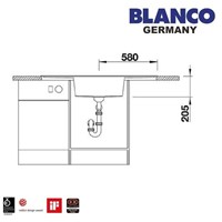 Jual Kitchen SInk Blanco Alaros 6 S 2
