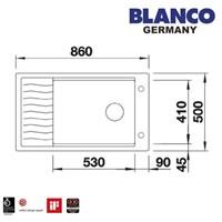 Beli Kitchen Sink Blanco Elon XL 6 S 4