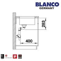 Distributor Kitchen Sink Blanco Supra 450 -U 3