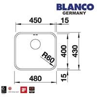 Beli Kitchen Sink Blanco Supra 450 -U 4