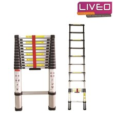 Tangga lipat Single Telescopic Ladder (3.8 m) Liveo LV 202