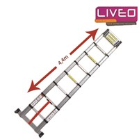 Jual Tangga Lipat single telescopic Liveo LV 203