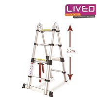 Tangga lipat Magic Telescopic (4.4 M) LIVEO LV 223  1