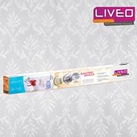Jual  Gantungan baju Dinding Lipat Alumunium Liveo LV-368  2