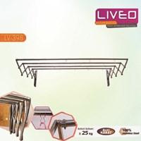 Distributor Gantungan baju Liveo LV 398 2 meter 4 bars 3