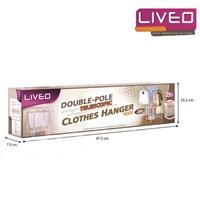 Jual Gantungan baju lantai double pole Liveo LV 728  2