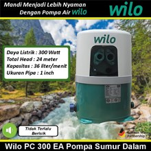 Wilo Pompa air tipe PC - 300 EA  Pompa sumur dalam