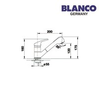 Distributor Blanco Kran air tipe Arum-S 3