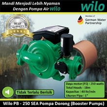 Wilo Pompa air PB - 250 SEA Pompa Dorong