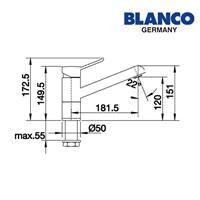 Distributor Blanco Kran Air tipe Zenos 3