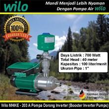 Wilo MHIKE - 203 A Pompa Dorong Inverter (Booster Inverter Pumps)