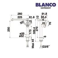 Jual Blanco kran air tipe ELOS one 2