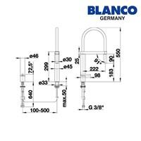 Distributor Blanco kran air tipe Culina S 3