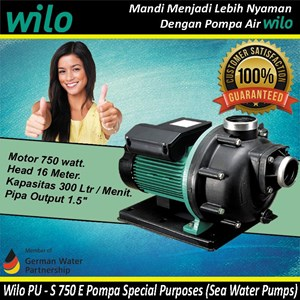 Wilo PU S 750 E Pompa Special Purposes (Sea Water Pumps)